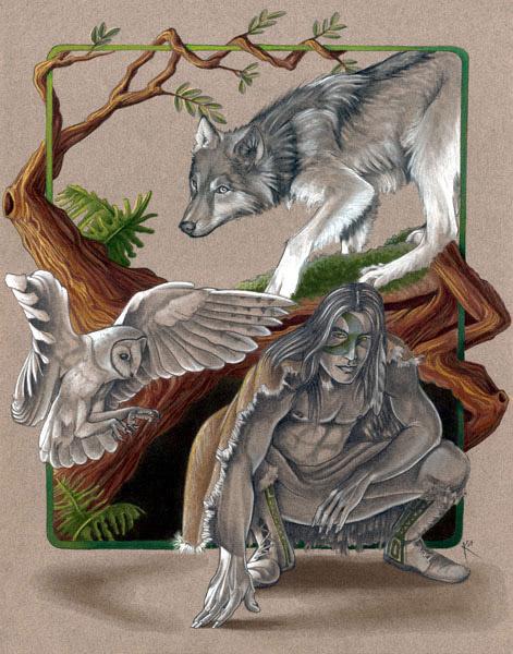 vivere-sciamanismo-lupo